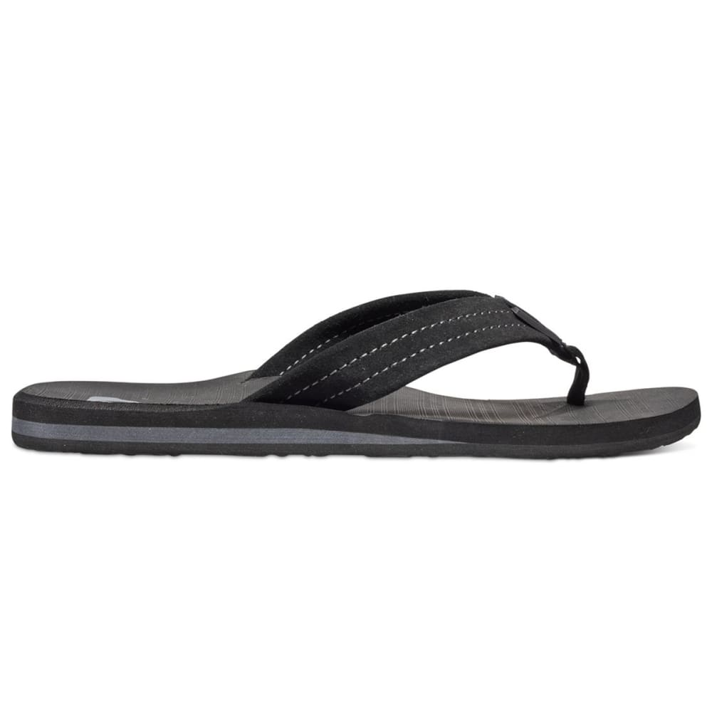 QUIKSILVER Men's Carver Suede Sandals - BLK /AQYL100030 SBKM