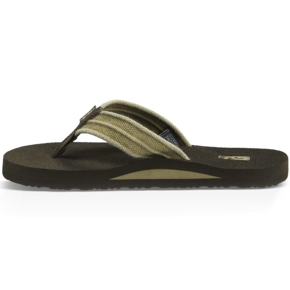 TEVA Men's Mush II Flip-Flops - DUNE