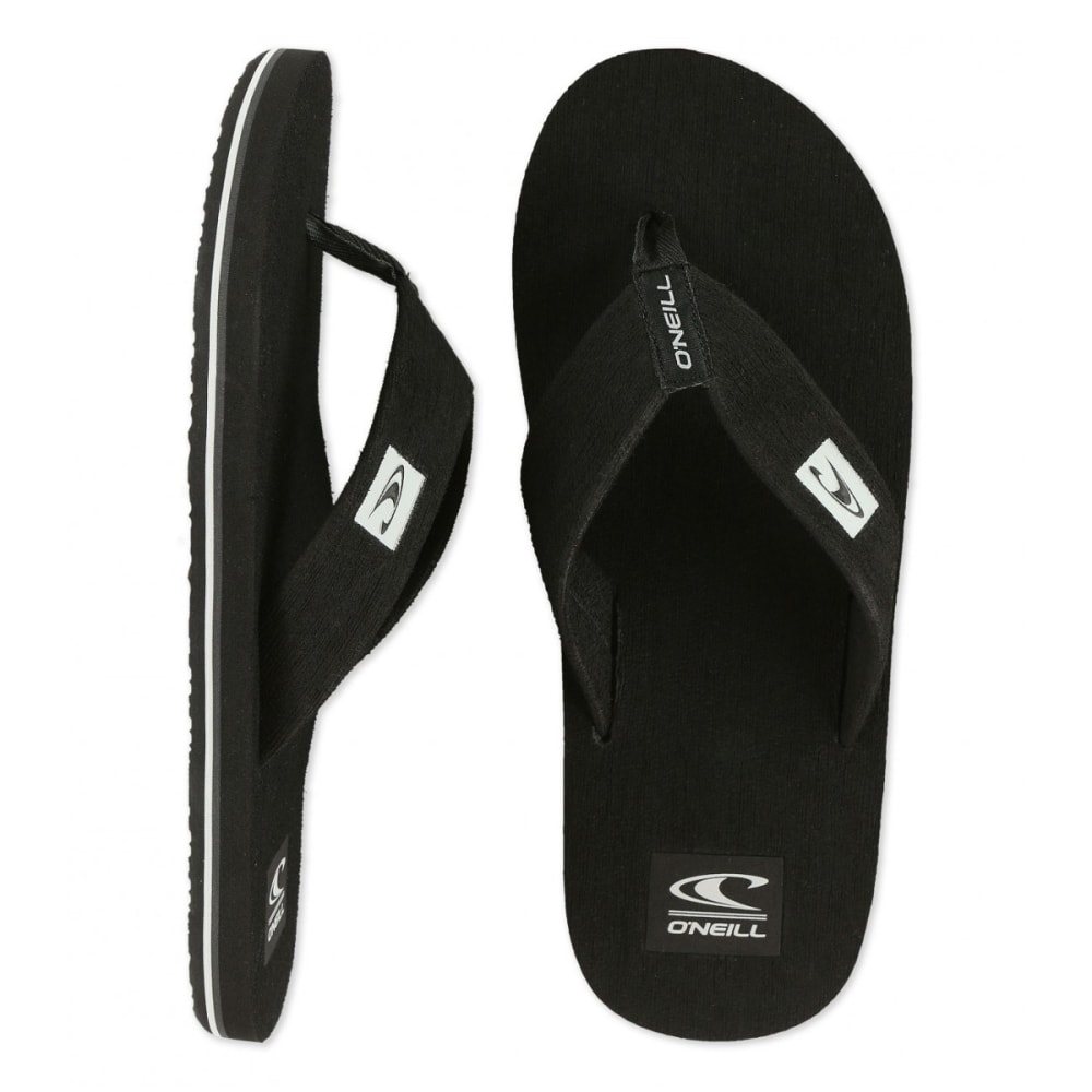 O'NEILL Men's Phluff Daddy Sandals - BLACK