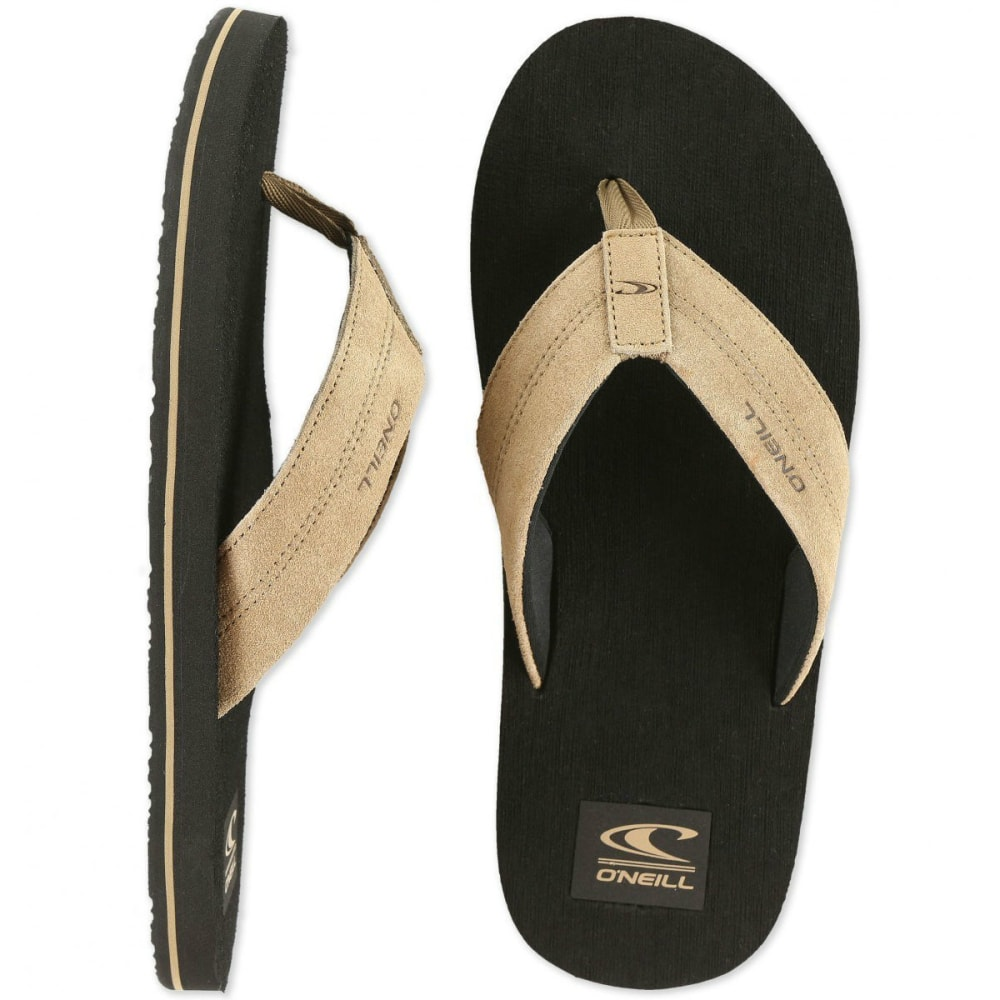 O'NEILL Men's Phluff Daddy Flip Flops - BIRCH