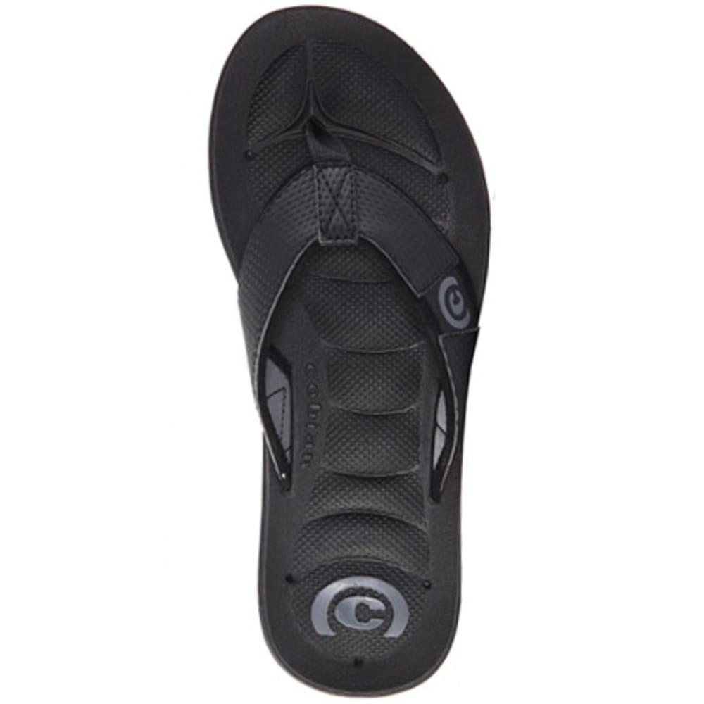 COBIAN Men's Draino Flip Flops - BLACK