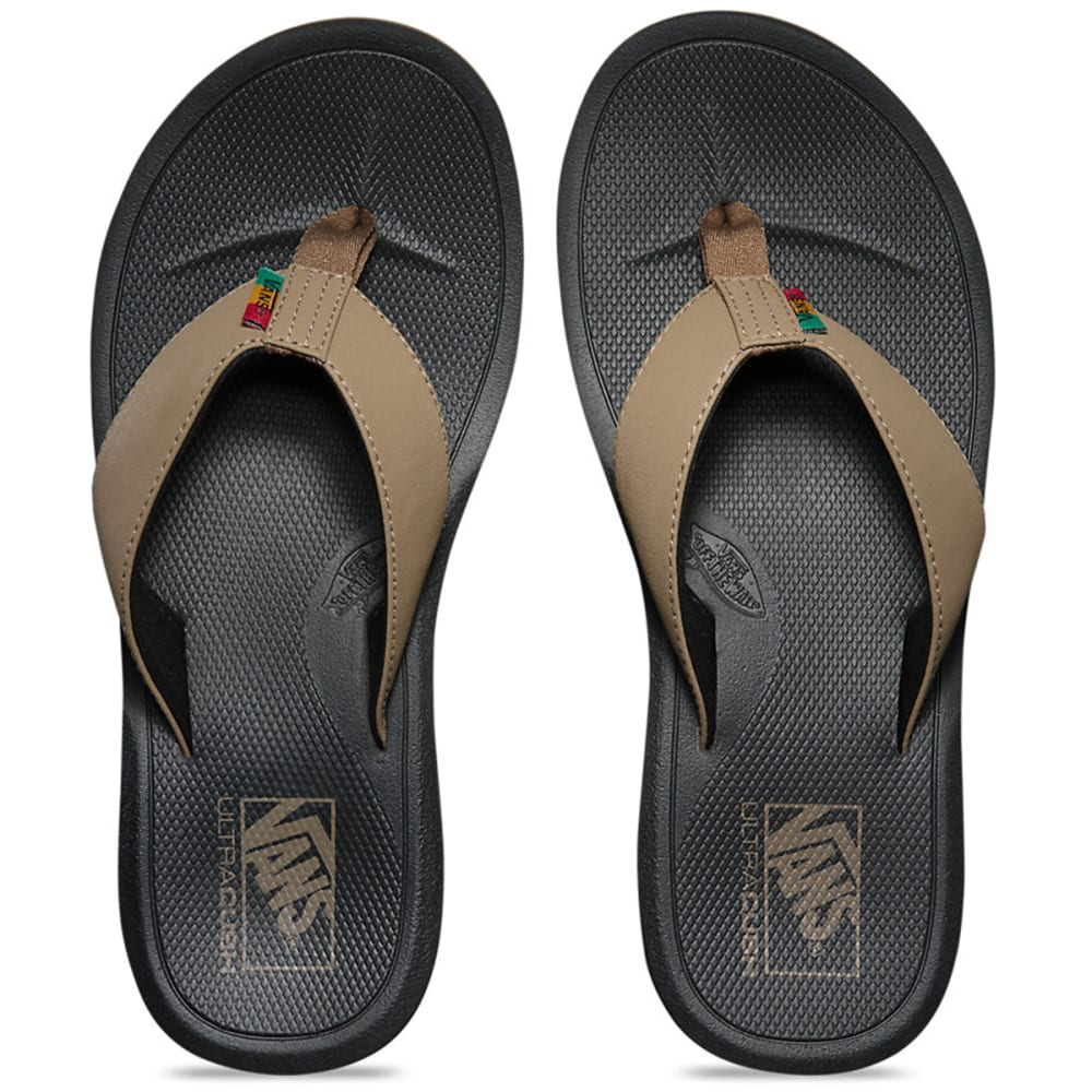VANS Men's Nexpa Flip Flop Sandals - BLACK