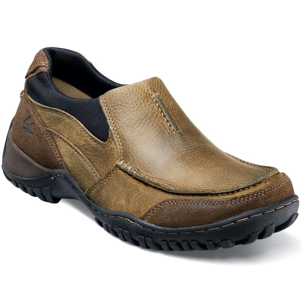NUNN BUSH Men's Portage Slip-On Shoes, Tan - PRAIRIE BEIGE-276