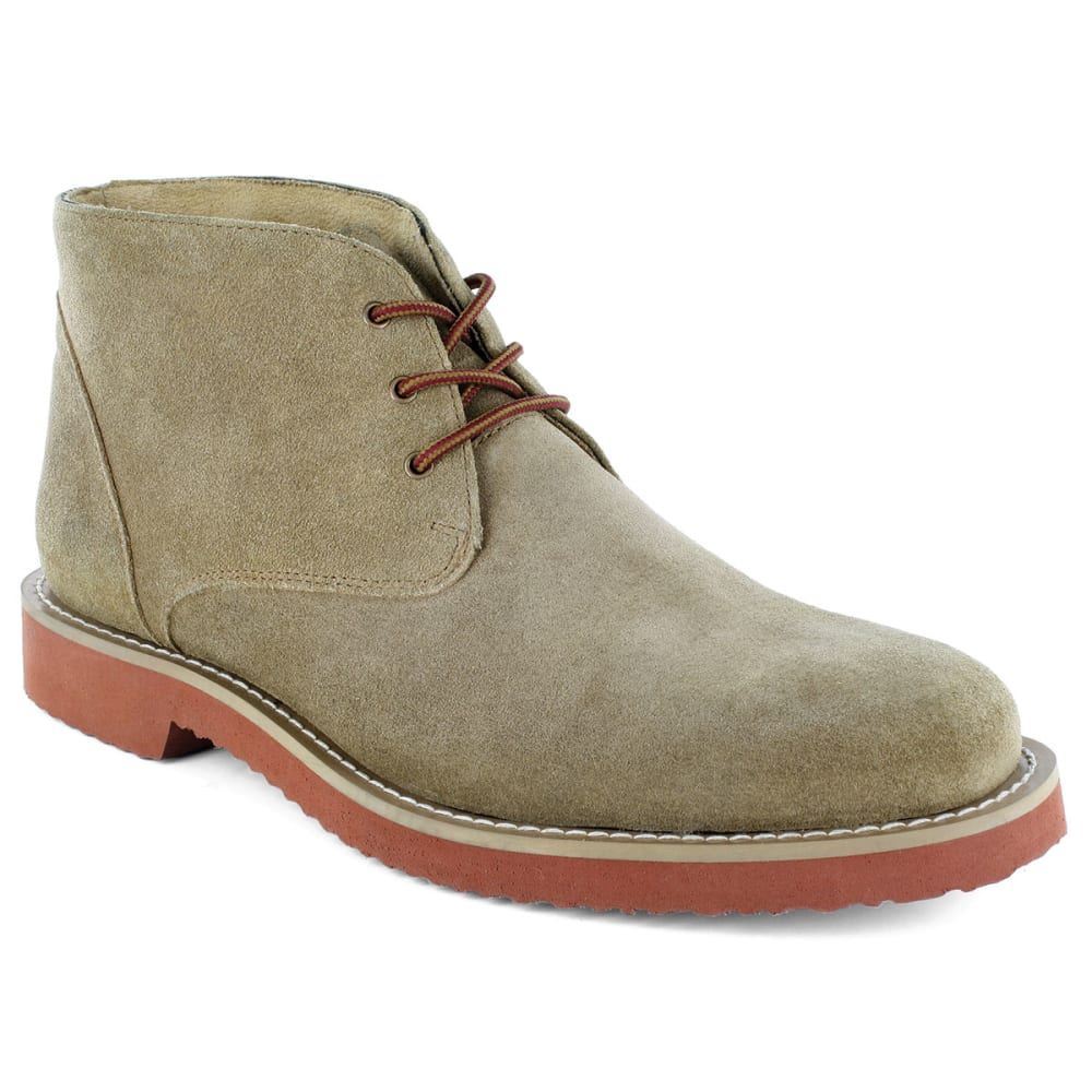 NUNN BUSH Men's Woodbury Plain Toe Chukka Boots - SAND