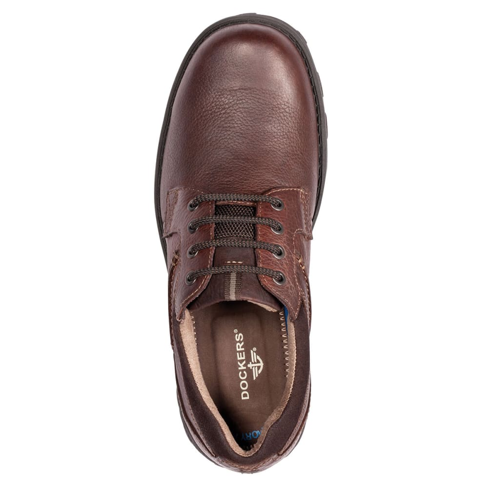 DOCKERS Men's Suffolk Oxford Shoes - BROWN