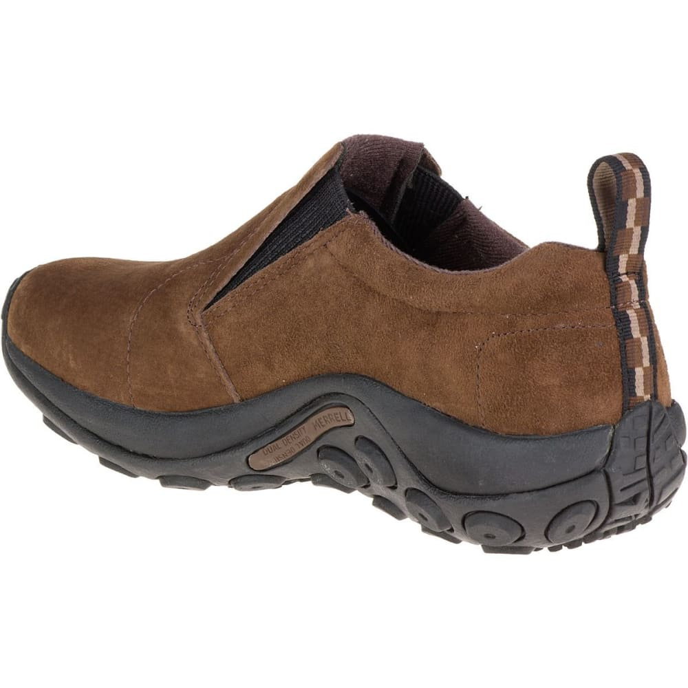 MERRELL Men's Jungle Moc Shoes, Dark Earth - DARK EARTH