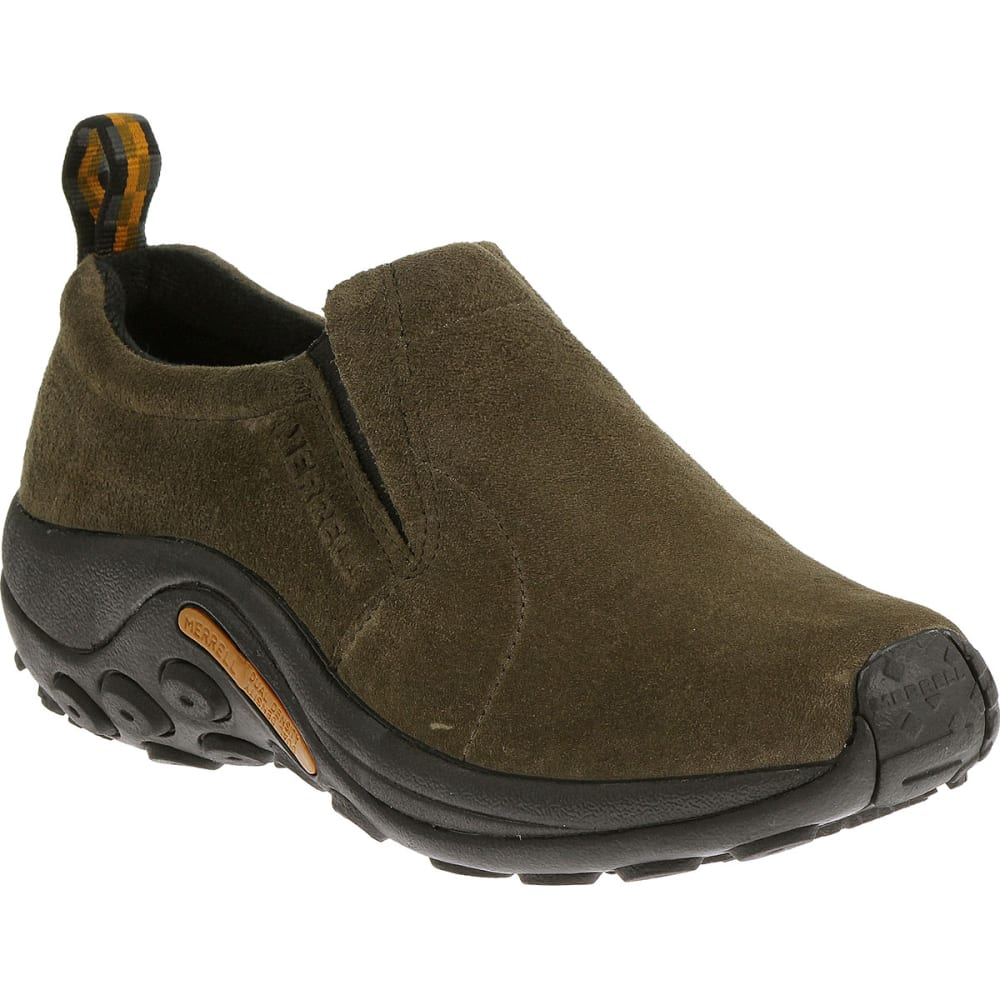 MERRELL Men's Jungle Moc, Gunsmoke - GUNSMOKE