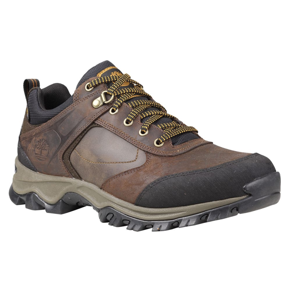 TIMBERLAND Men's MT Maddsen Low Hiking Shoes - COCOA