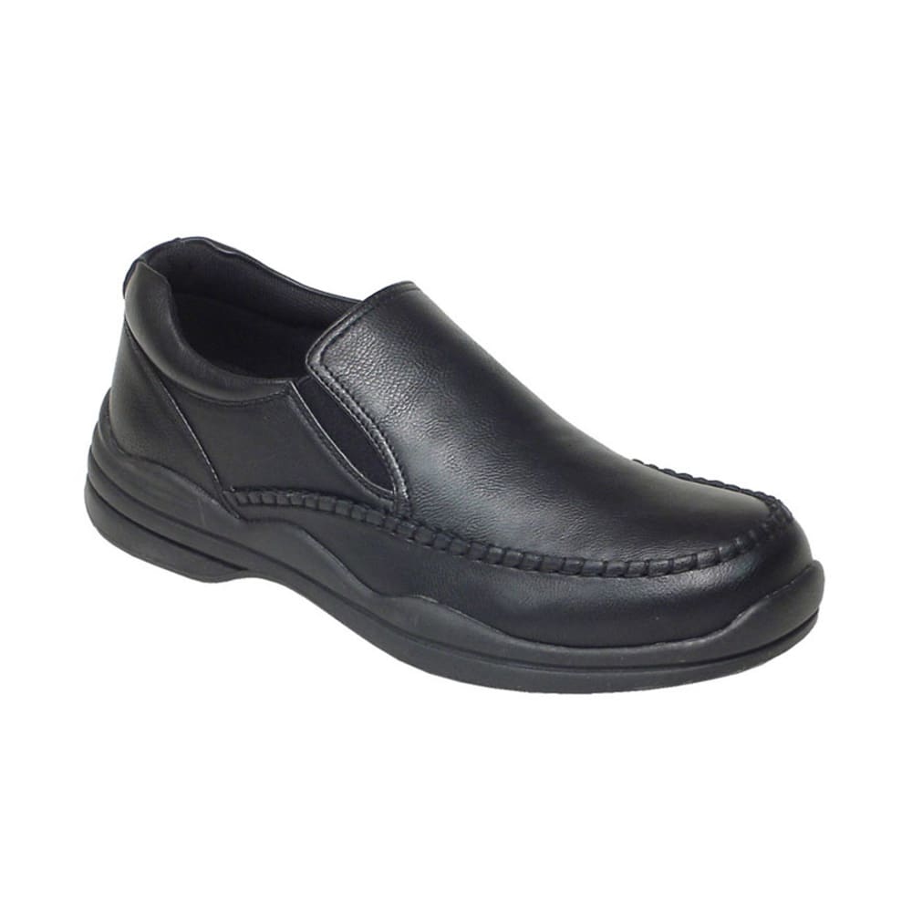 Deer Stags Men's Pursuit Slip-on Shoes, Wide Width - BLACK