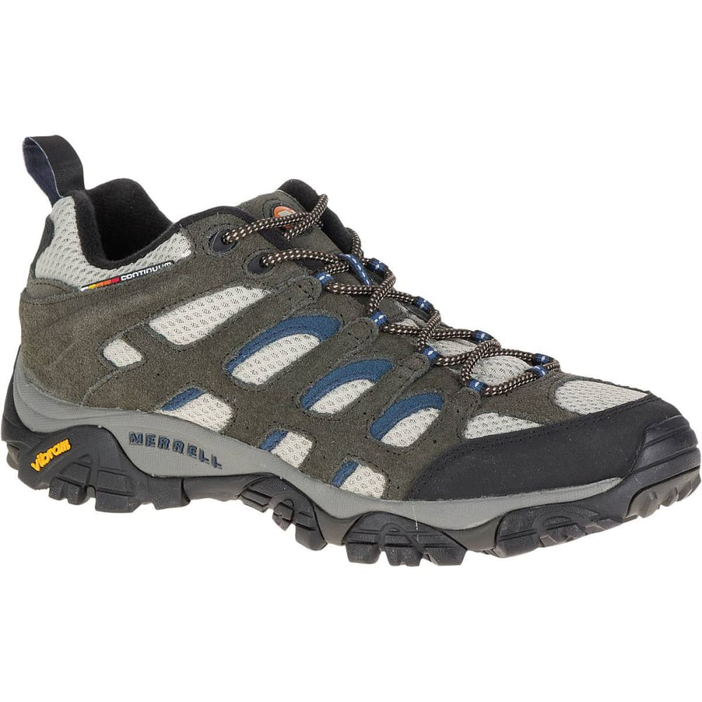 MERRELL Men's Moab Ventilator Hiking Shoes, Walnut - BELUGA