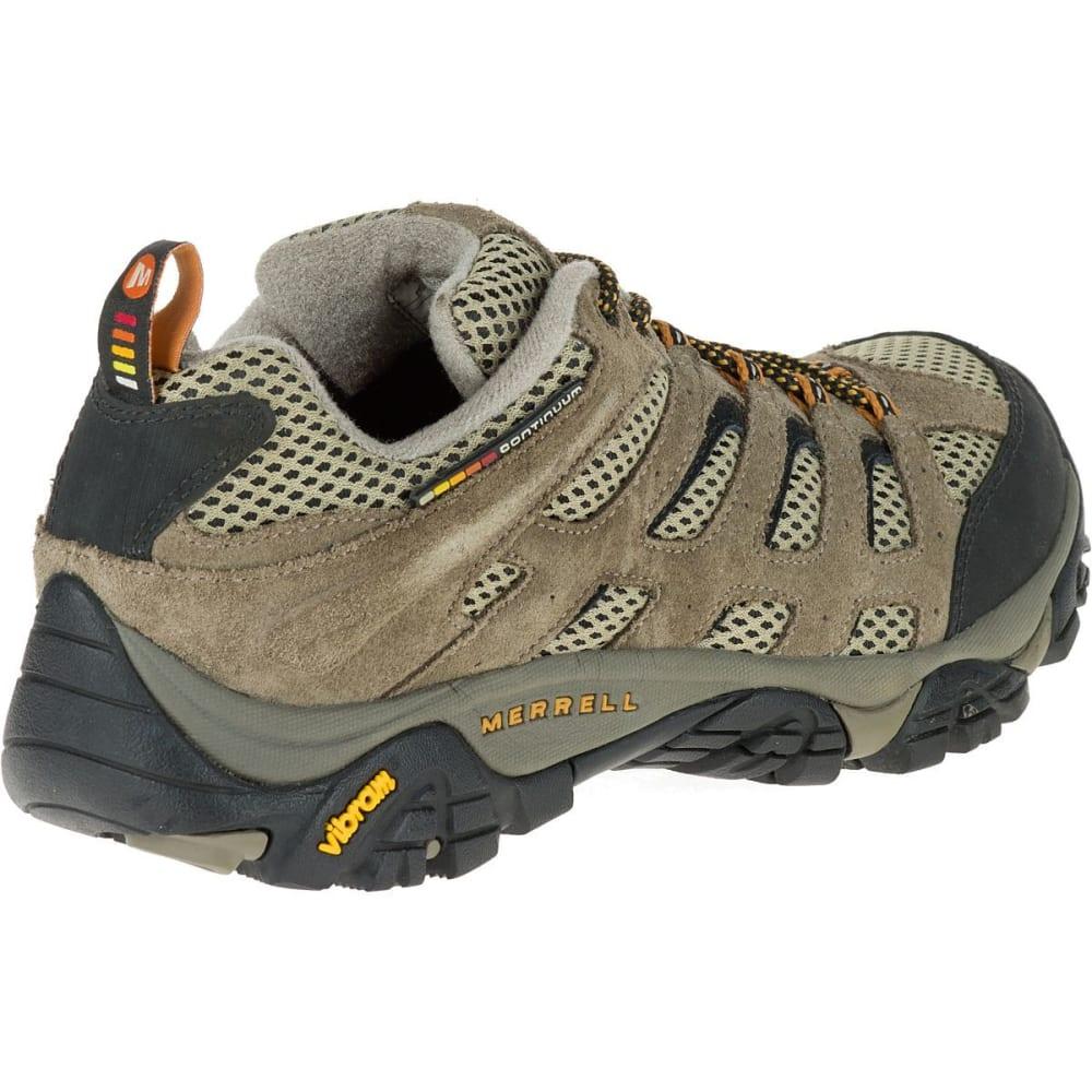 MERRELL Men's Moab Ventilator Hiking Shoes, Walnut - WALNUT