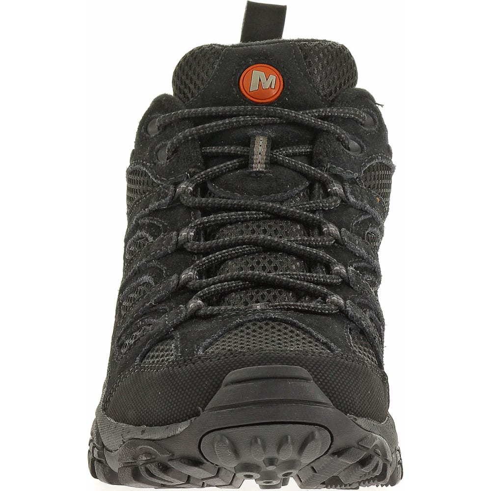 MERRELL Men's Moab Ventilator Hiking Shoes, Black Night - BLACK NIGHT
