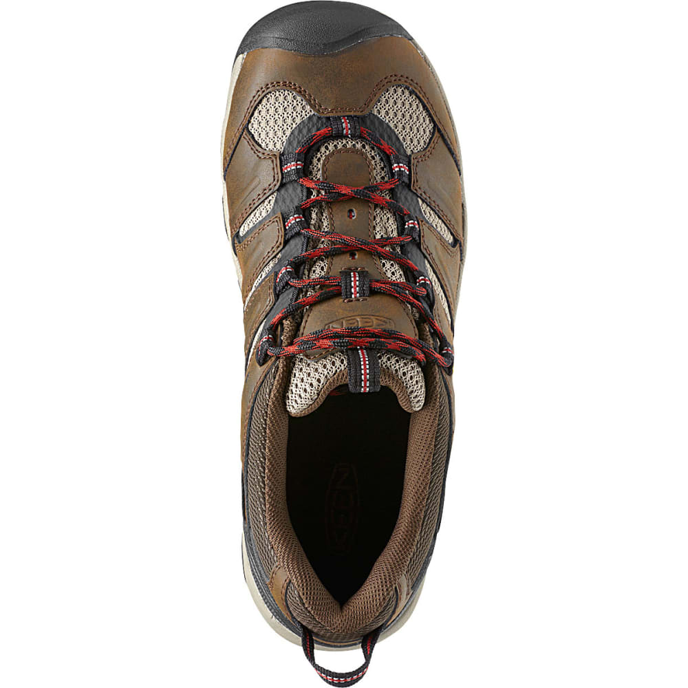 KEEN Men's Koven Low Hiking Shoes - BROWN