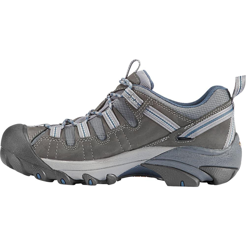 KEEN Men's Targhee II Hiking Shoes, Gargoyle/Midnight Navy - GARGOYLE/NAVY