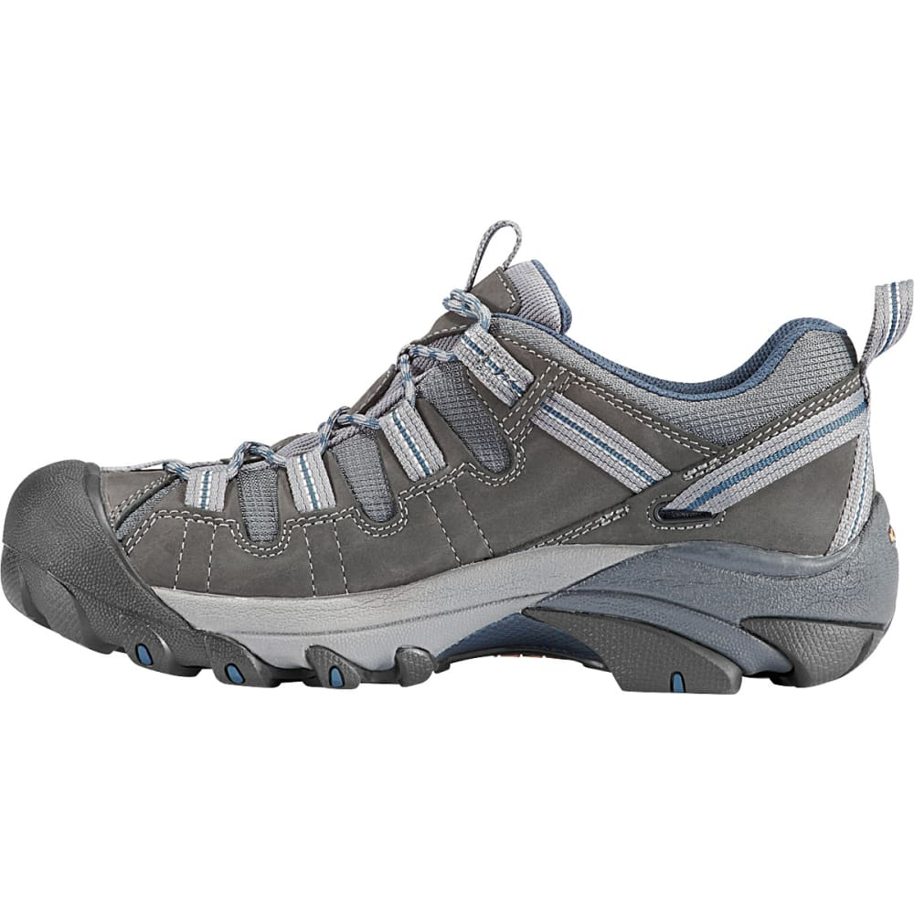 KEEN Men's Targhee II Hiking Shoes, Gargoyle/Midnight Navy - GARGOYLE/MIDNIGHT NA