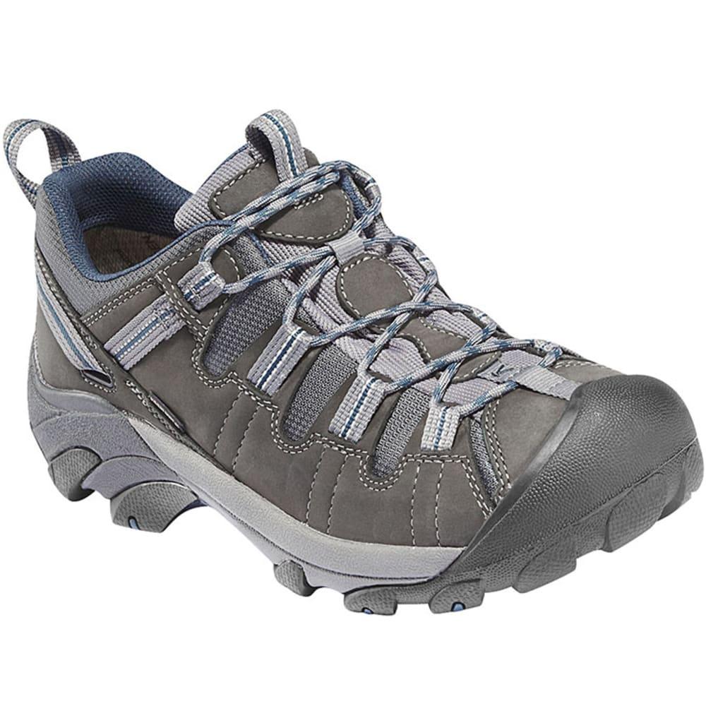 KEEN Men's Targhee II Hiking Shoes, Gargoyle/Midnight Navy 7