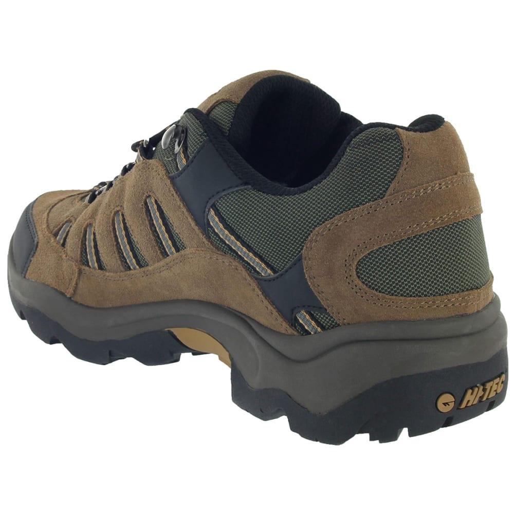 HI-TEC Men's Bandera Low WP Hiking Shoes, Bone/Brown/Mustard,Wide - BONE/BROWN/MUSTARD