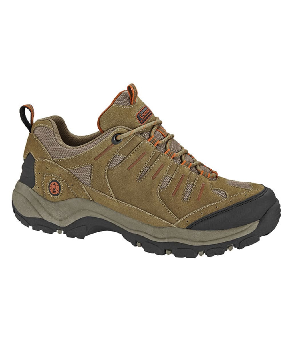 COLEMAN Men's Uphill Low Hiking Shoes - BROWN