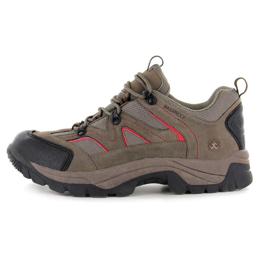 NORTHSIDE Men's Snohomish Low Waterproof Hiker Boots - BROWN