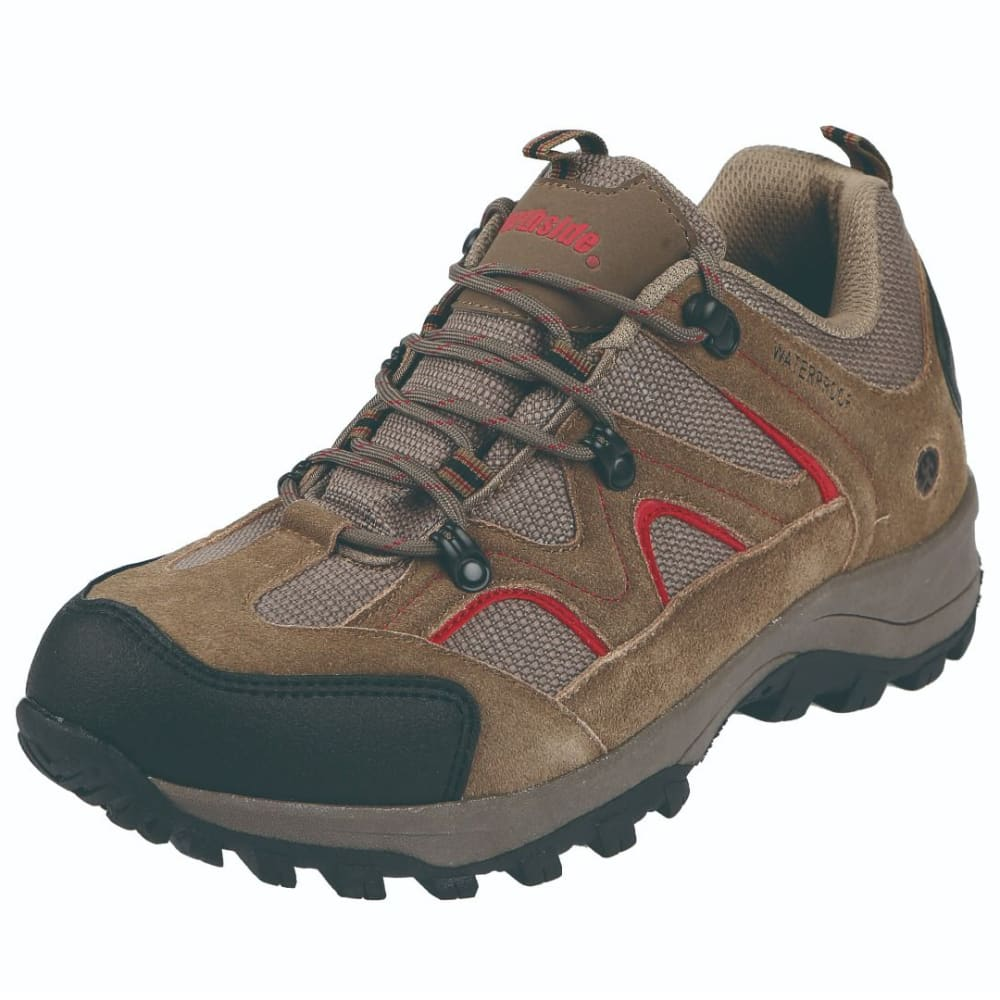 NORTHSIDE Men's Snohomish Low Waterproof Hiker Boots - CHILI PEPPER -602