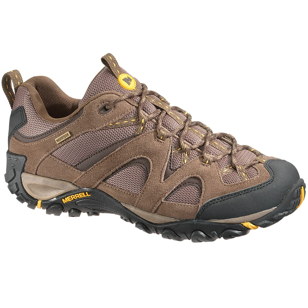 MERRELL Men's Energis Low Waterproof Hiking Shoes, Stone - STONE