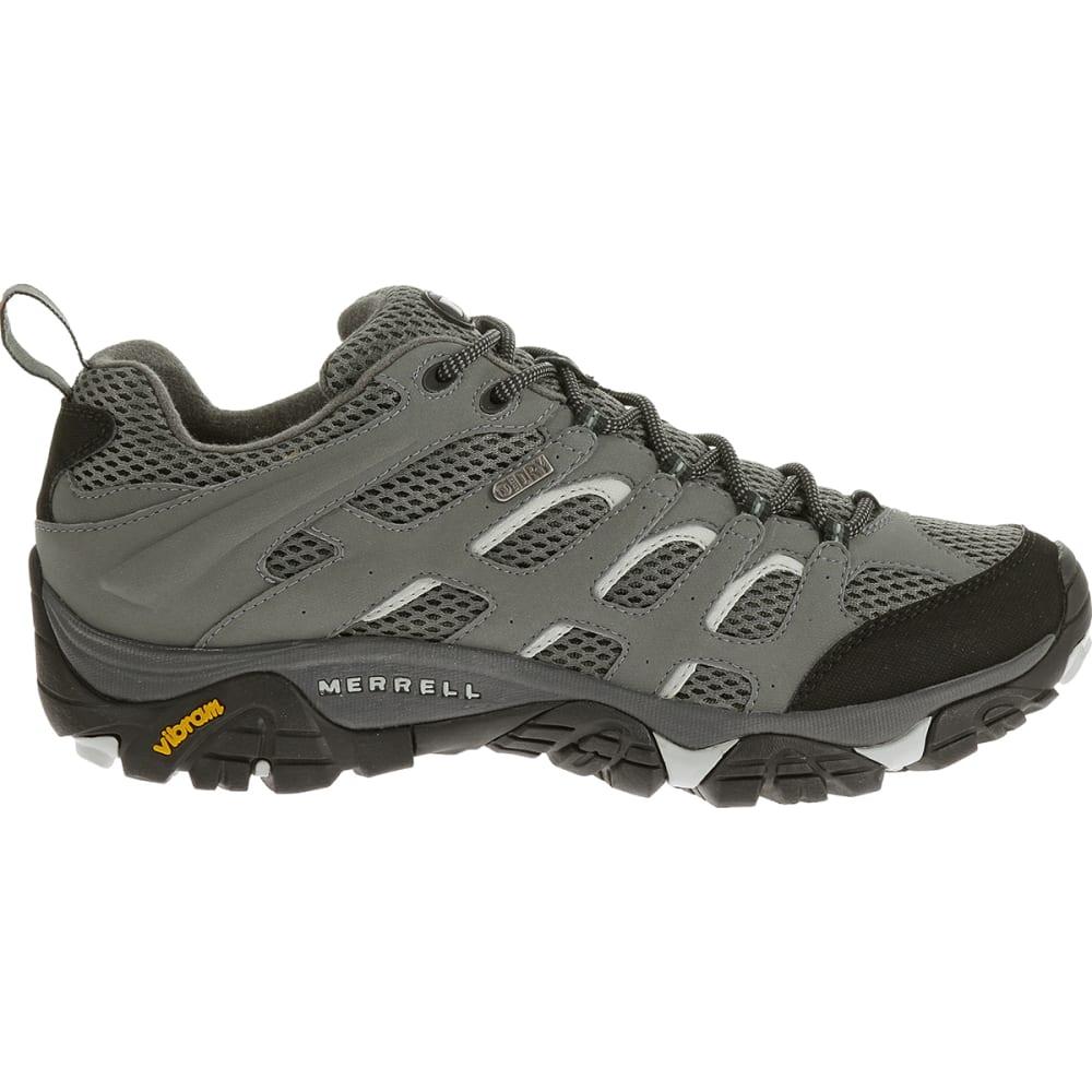 MERRELL Men's Moab Waterproof Hiking Shoes, Sedona Sage - SEDONA SAGE