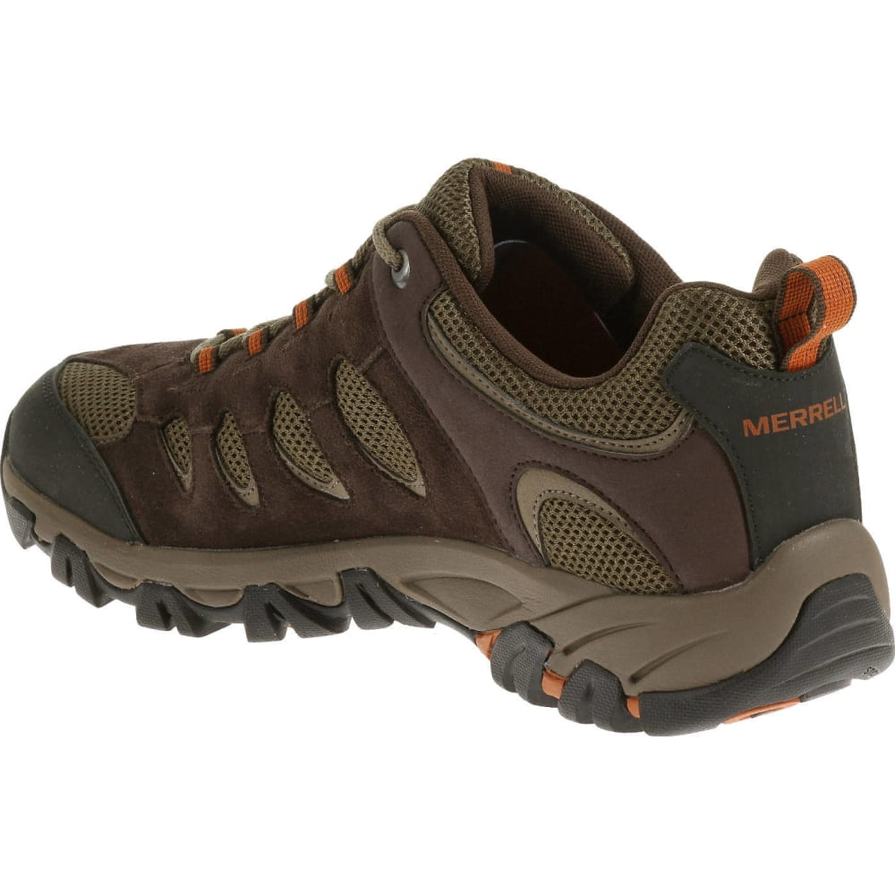 Merrell Men's Ridgepass Hiking Shoes - EXPRESSO/POTTERS