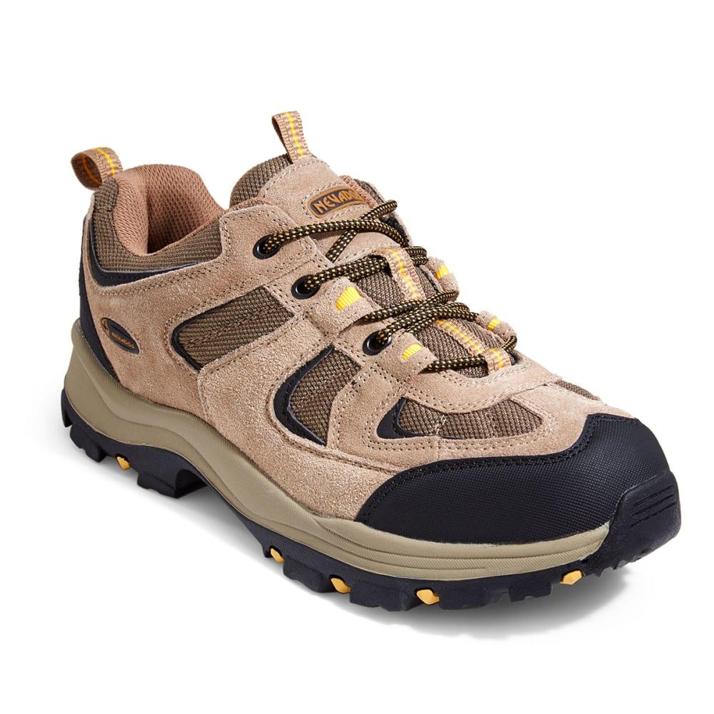 NEVADOS Men's Boomerang Low Hiking Shoes - BROWN