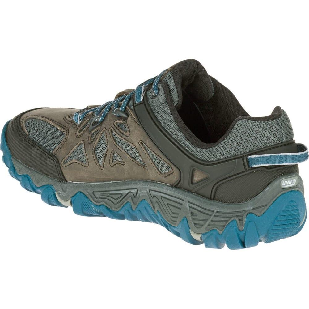 MERRELL Men's All Out Blaze Ventilator Hiking Shoes - METALLIC SILVER