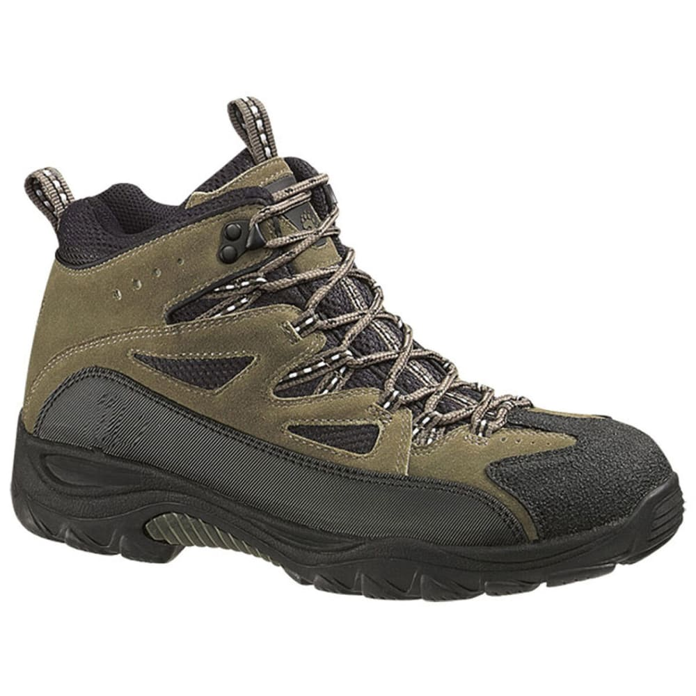 WOLVERINE Men's Fulton Mid Hiking Boots, Medium Width - BROWN