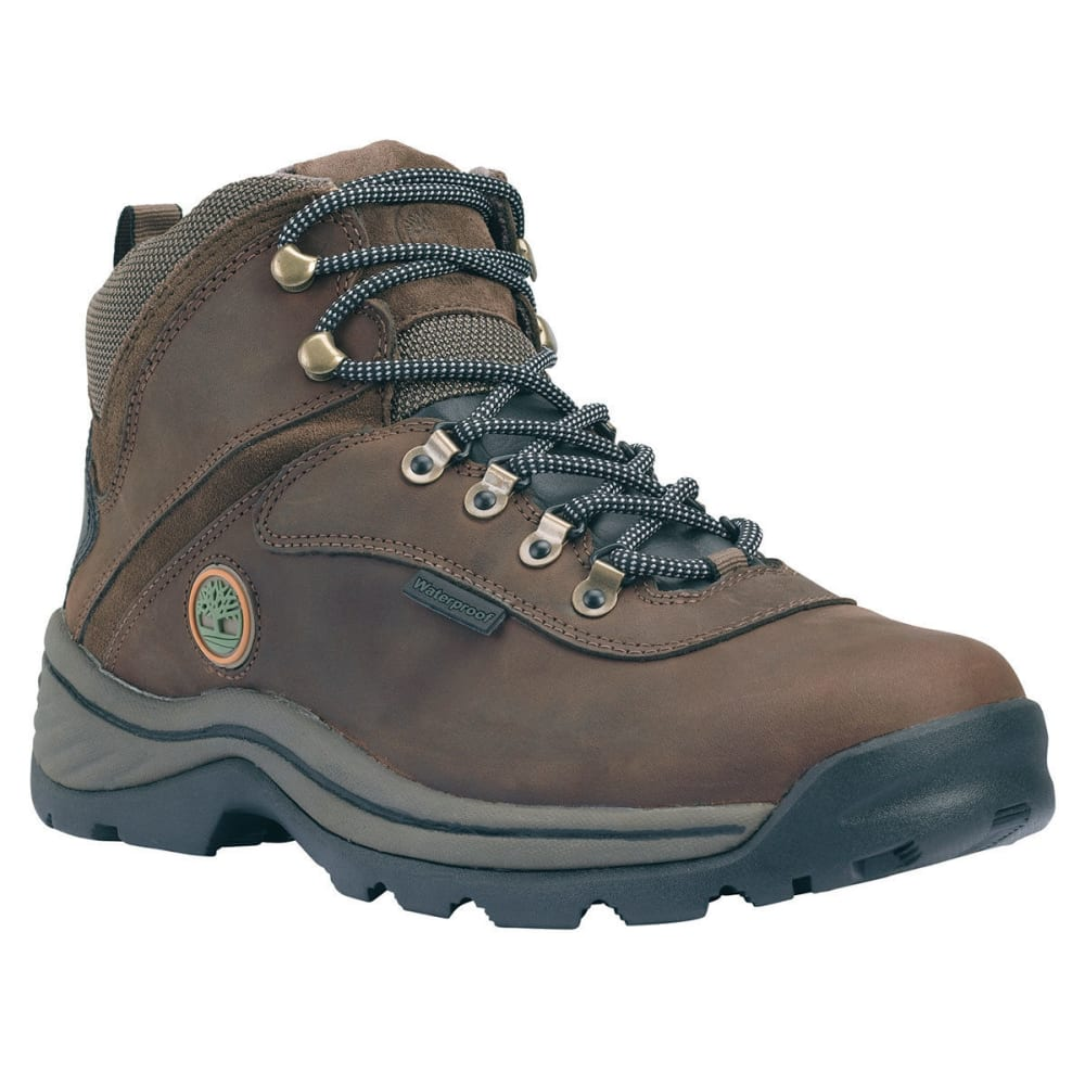 TIMBERLAND Men's White Ledge Waterproof Mid Boots, Wide Width - BROWN- TB012135214W