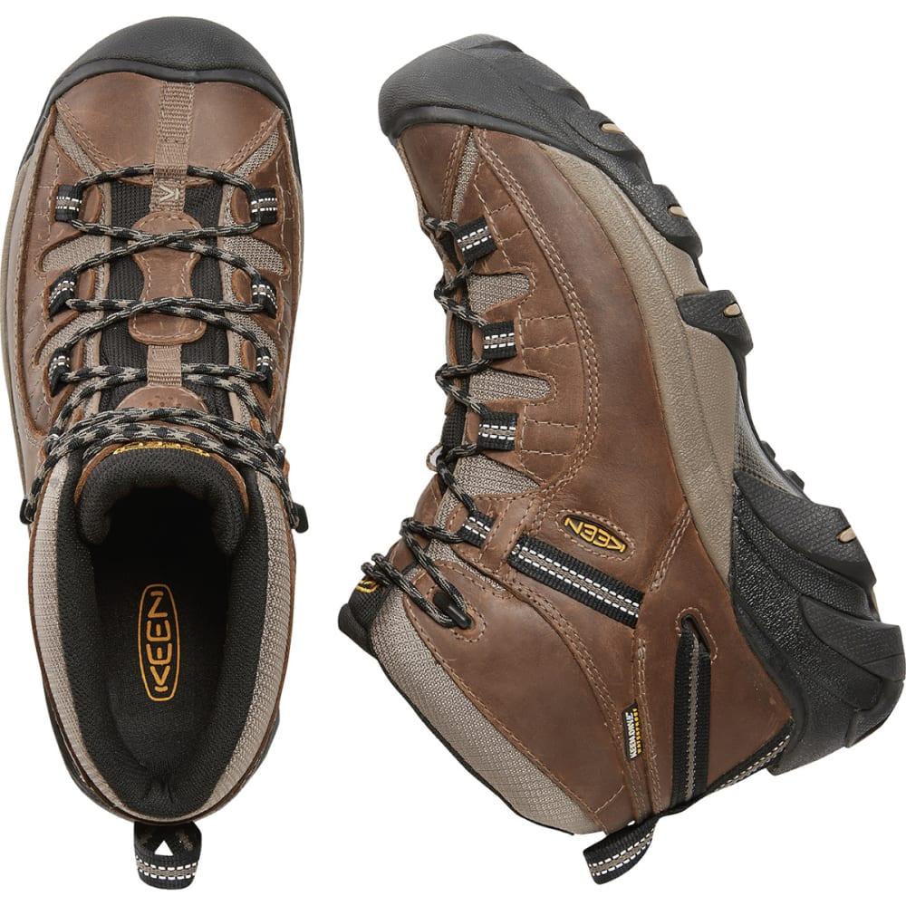 KEEN Men's Targhee Mid Waterproof Hiking Boots - SHITAKE