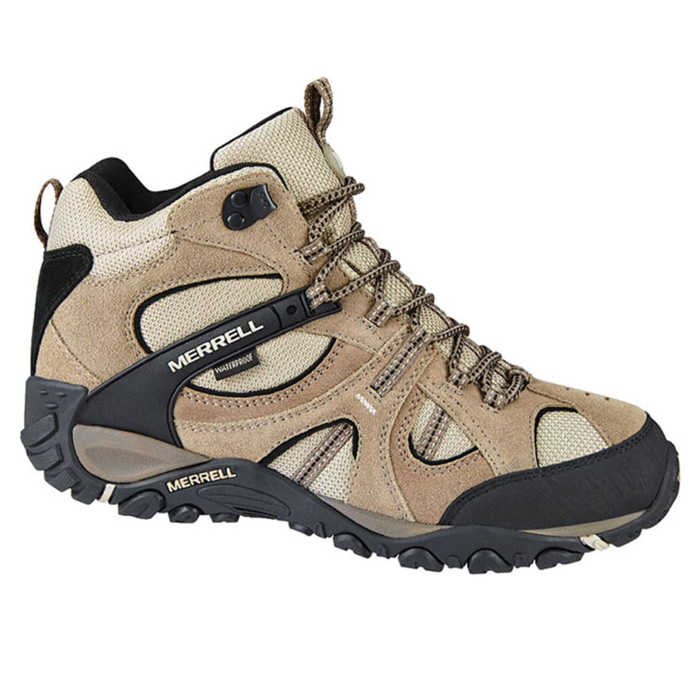 MERRELL Men's Yokota Trail Waterproof Mid Hiking Boots - BRINDLE