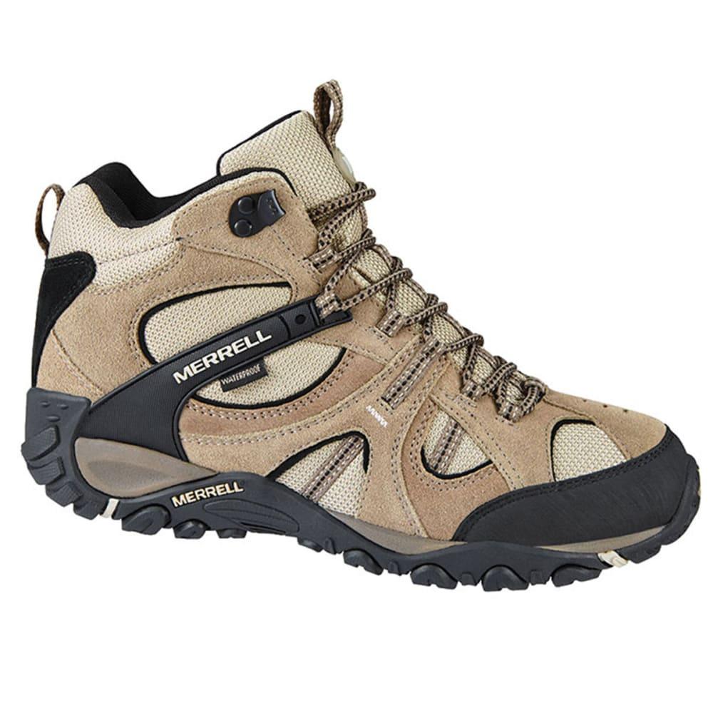 MERRELL Men's Yokota Trail Waterproof Mid Hiking Boots - BRINDLE