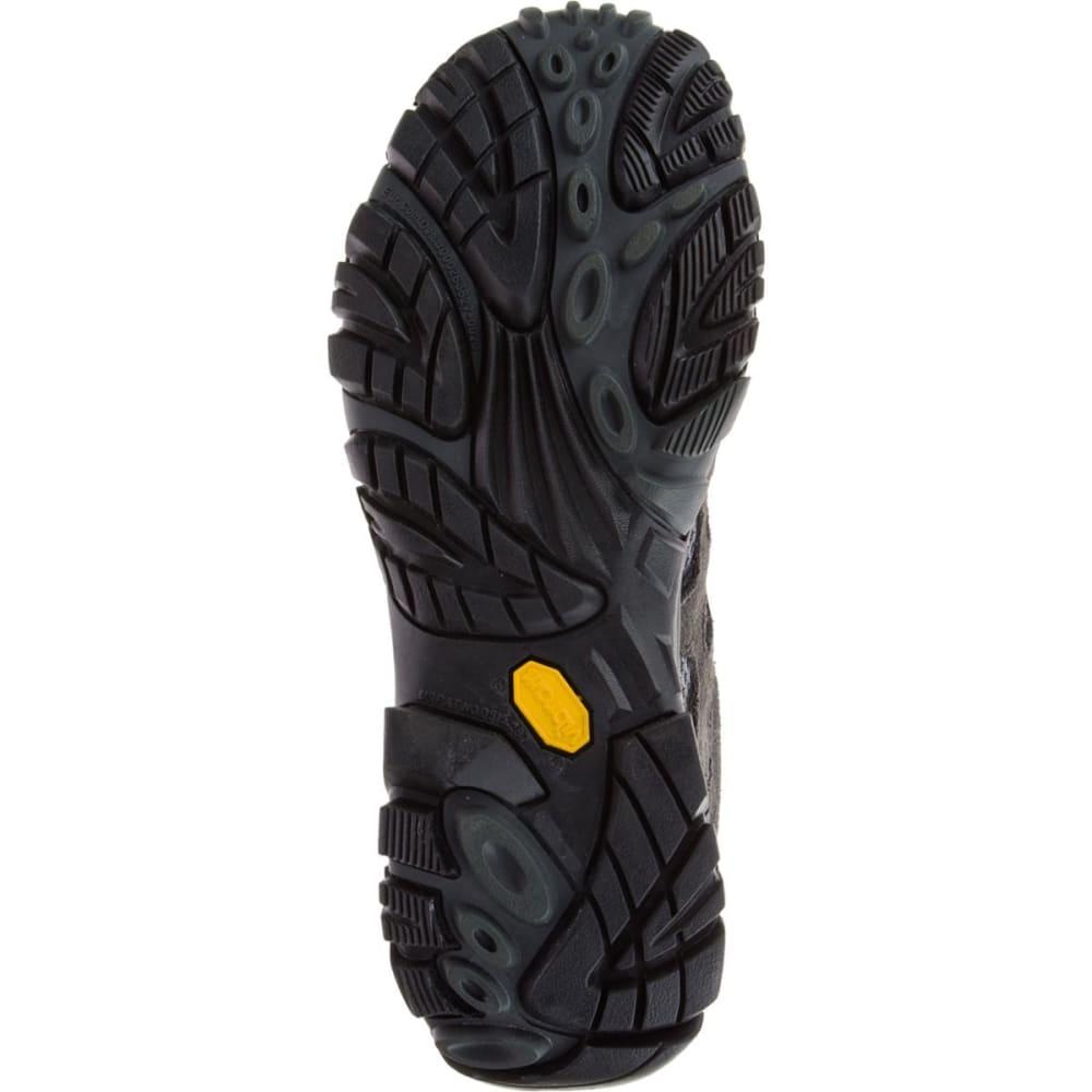 MERRELL Men's Moab Mid WP Hiking Boots, Beluga - BELUGA