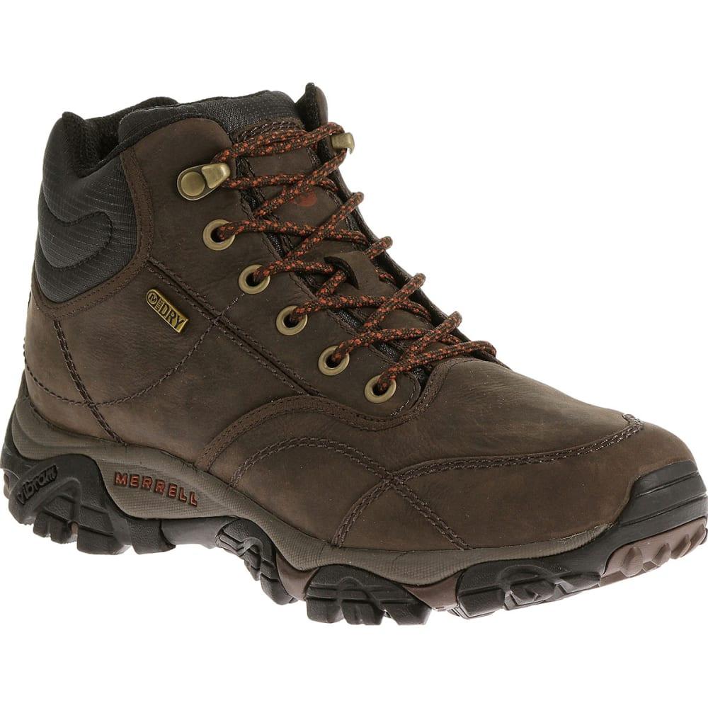 MERRELL Men's Moab Rover Mid WP Boots, Espresso - ESPRESSO