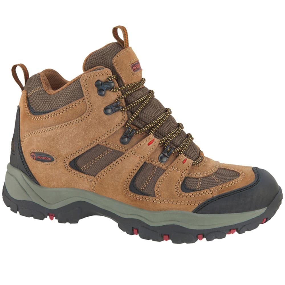 NEVADOS Men's Boomerang II Mid Hiking Boots, Wide Width - BROWN
