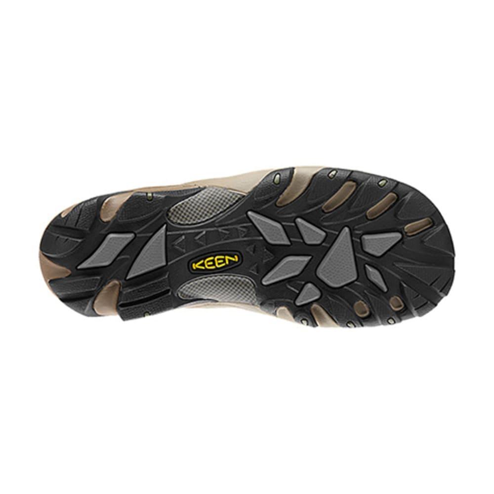 KEEN Men's Voyageur Mid Hiking Boots, Dark Earth - BROWN