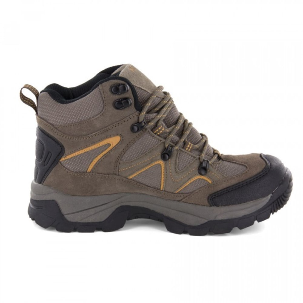 NORTHSIDE Men's Snohomish Mid Waterproof Hiker Boots - BROWN
