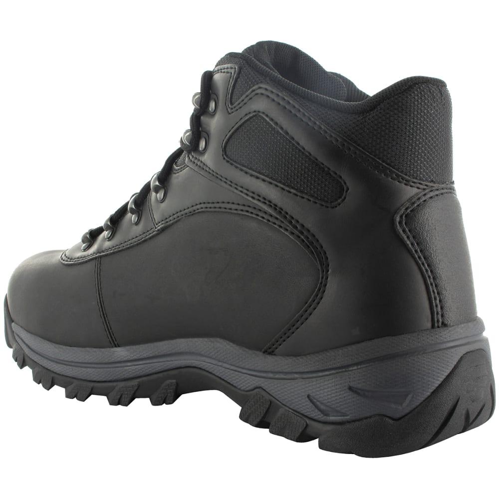 HI-TEC Men's Altitude Base Camp WP Hiking Boots - BLACK DISTRESSED