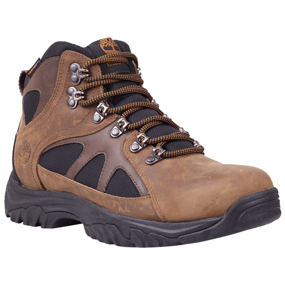 TIMBERLAND Men's Bridgeton Mid Waterproof Hiking Boots, Wide Width - BROWN