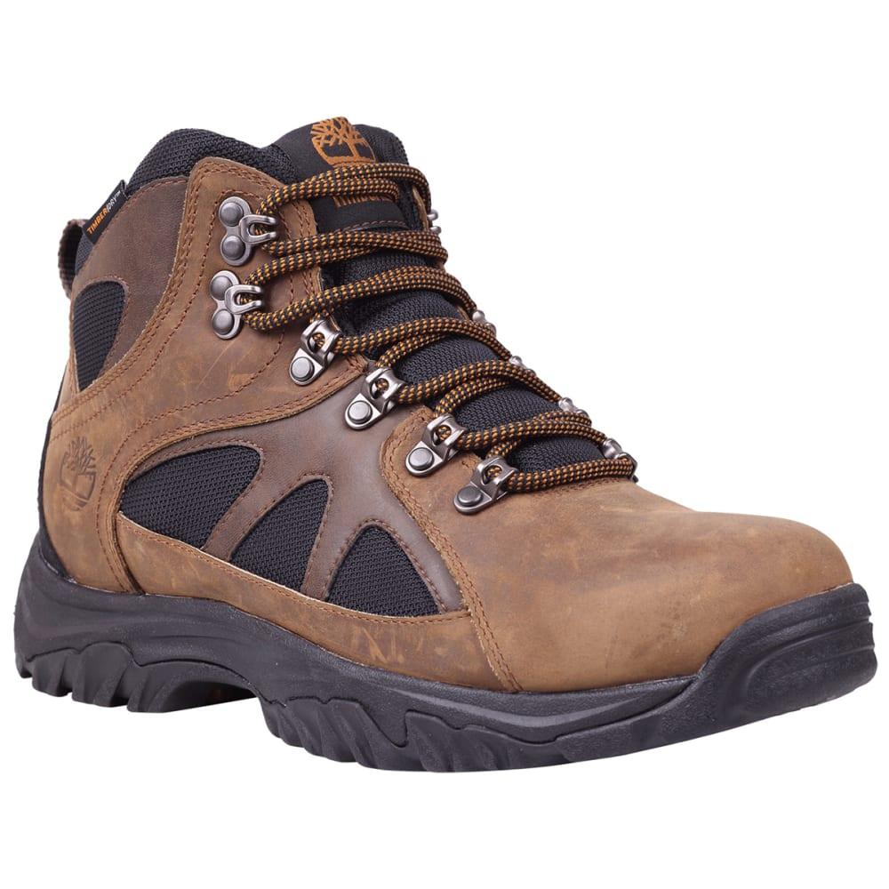TIMBERLAND Men's Bridgeton Mid Waterproof Hiking Boots, Wide Width - BROWN