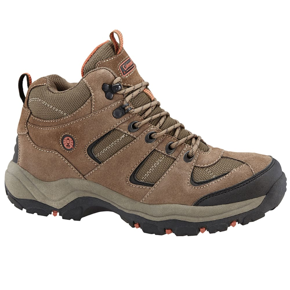COLEMAN Men's Trax Hiking Boots - CHESTNUT DISTRESSED