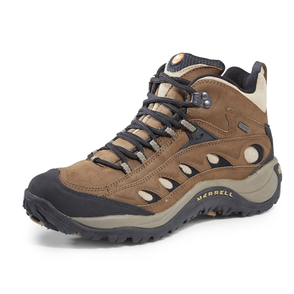 MERRELL Men's Radius II Mid Waterproof Hiking Boots - COCOA