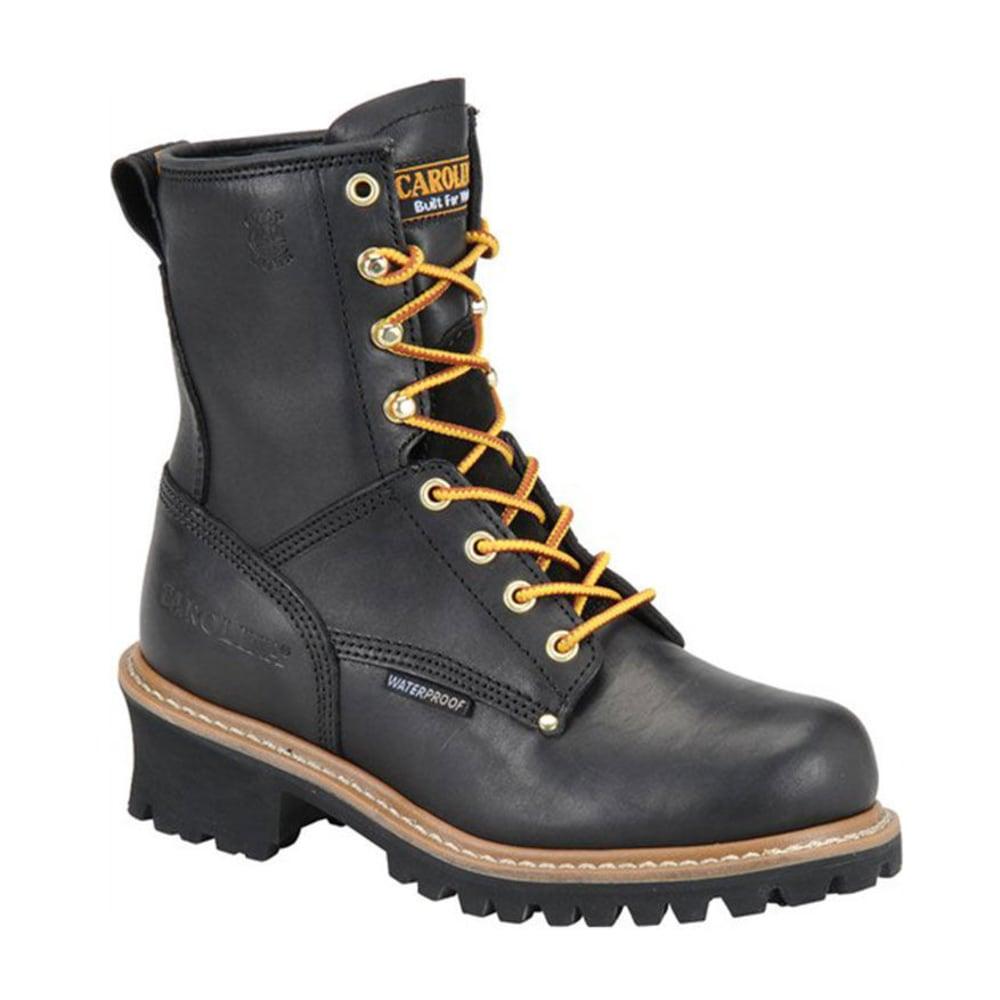 CAROLINA Women's CA420 8 in. Waterproof Logger Boots - BLACK