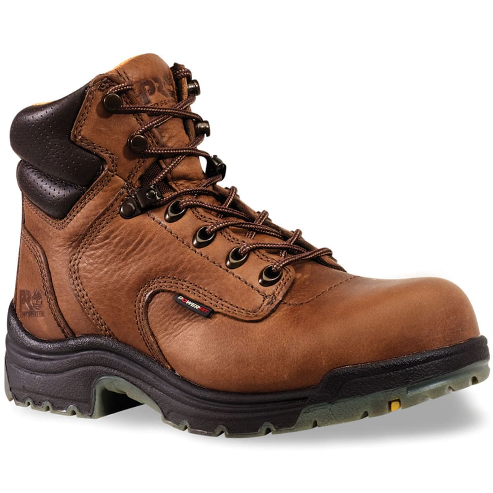 TIMBERLAND PRO Women's Titan Safety Boots - PREMIER - BROWN