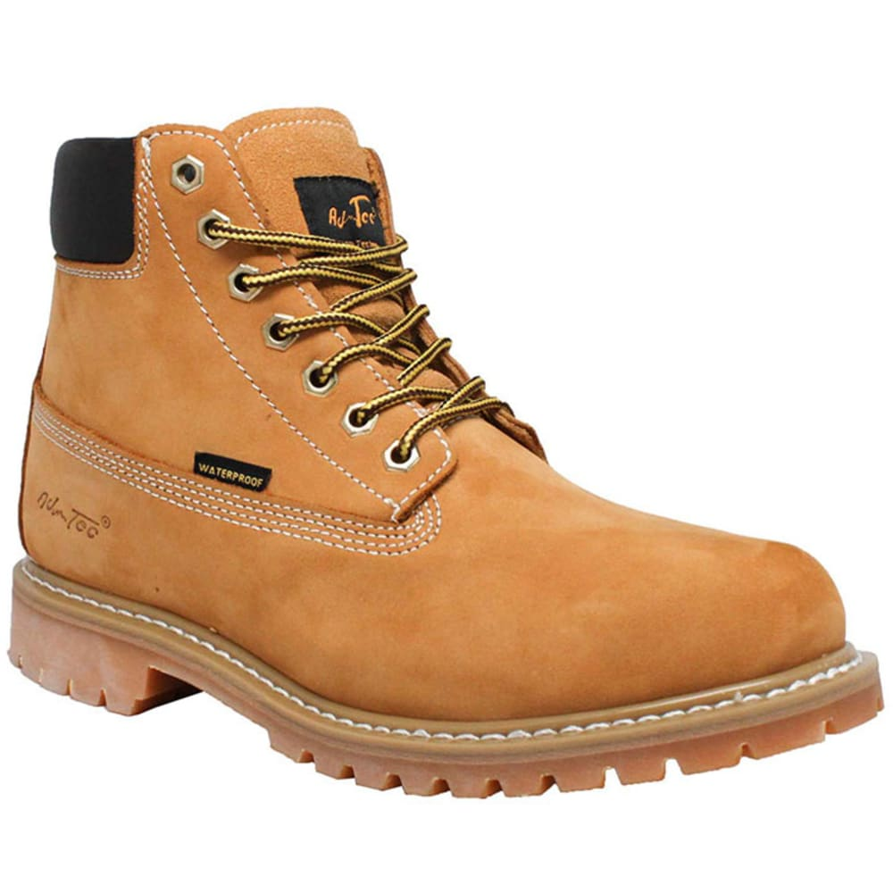 AD TEC Women's 6 in. Waterproof Work Boots - WHEAT