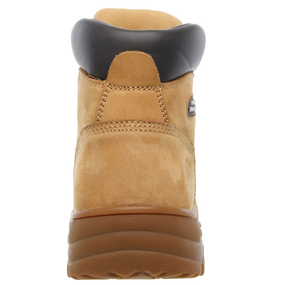 SKECHERS Women's Workshire Peril Steel Toe Work Boots - WTN -WHEAT