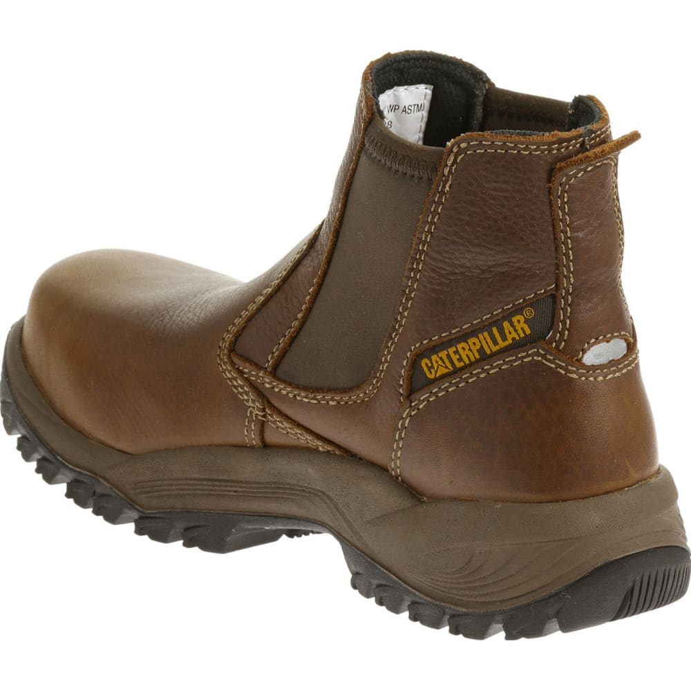 CATERPILLAR Women's Veneer Waterproof Composite Toe Work Boot - MOREL