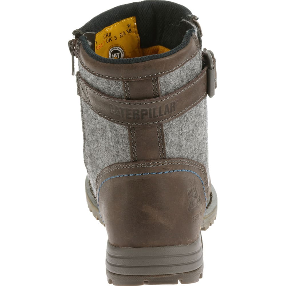 CATERPILLAR Women's Jace Steel Toe Boots - MOREL